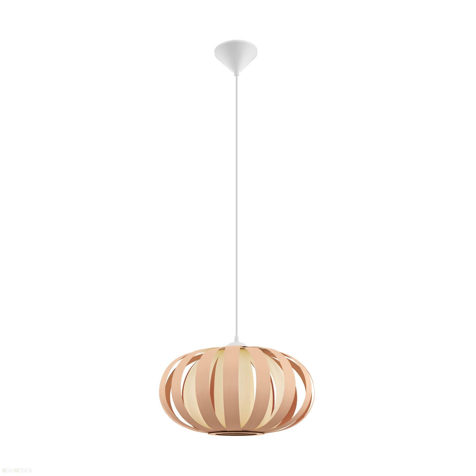 Bekend Eglo Arenella Hanglamp Bruin-Hout (Ø45 cm) EL08