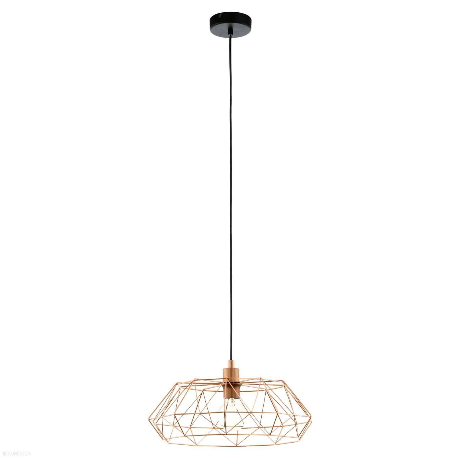 Afbeelding van Eglo Carlton 2 Hanglamp Koper (ø45,5cm)