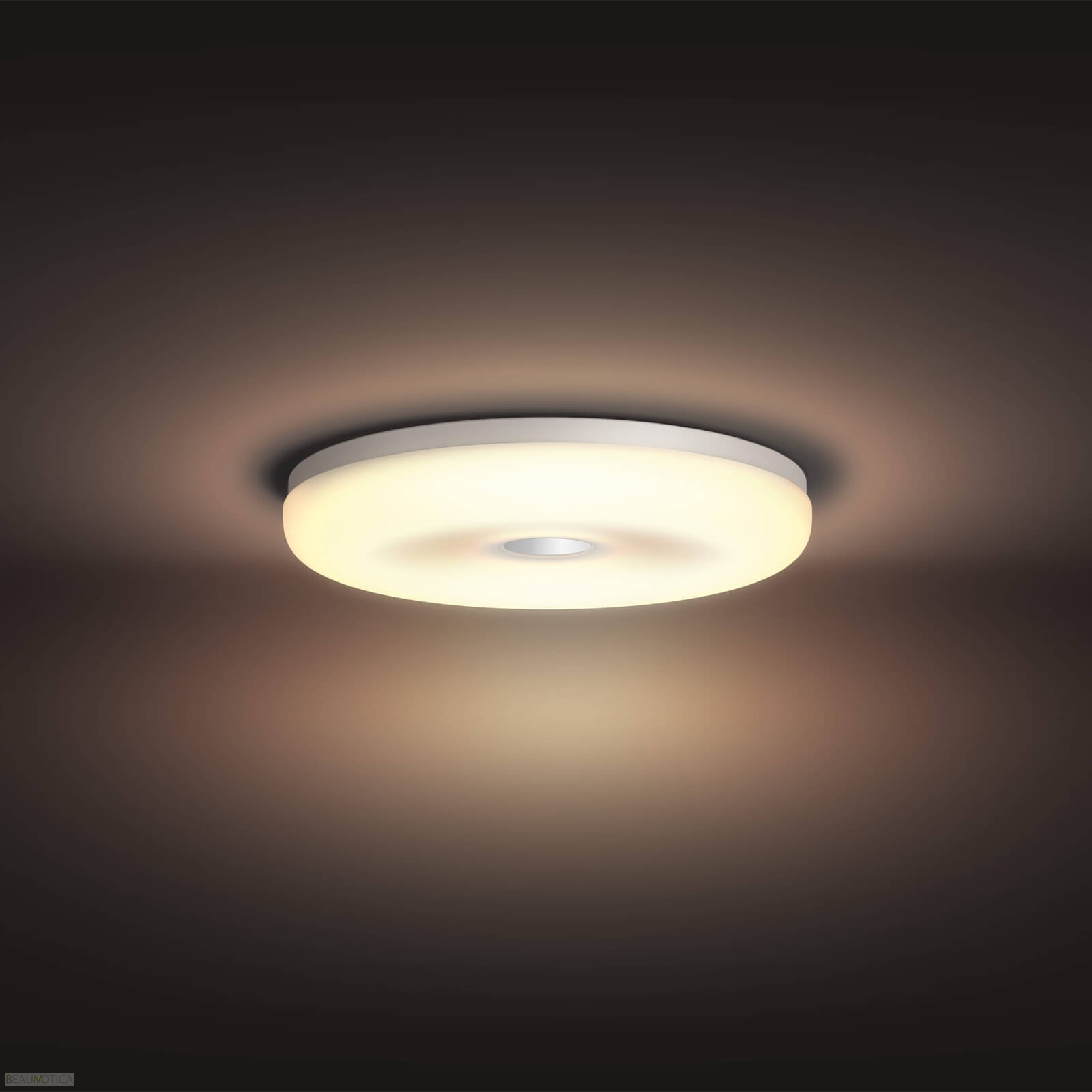 Philips Hue Struana Badkamer- Plafondlamp wit (White Ambiance)