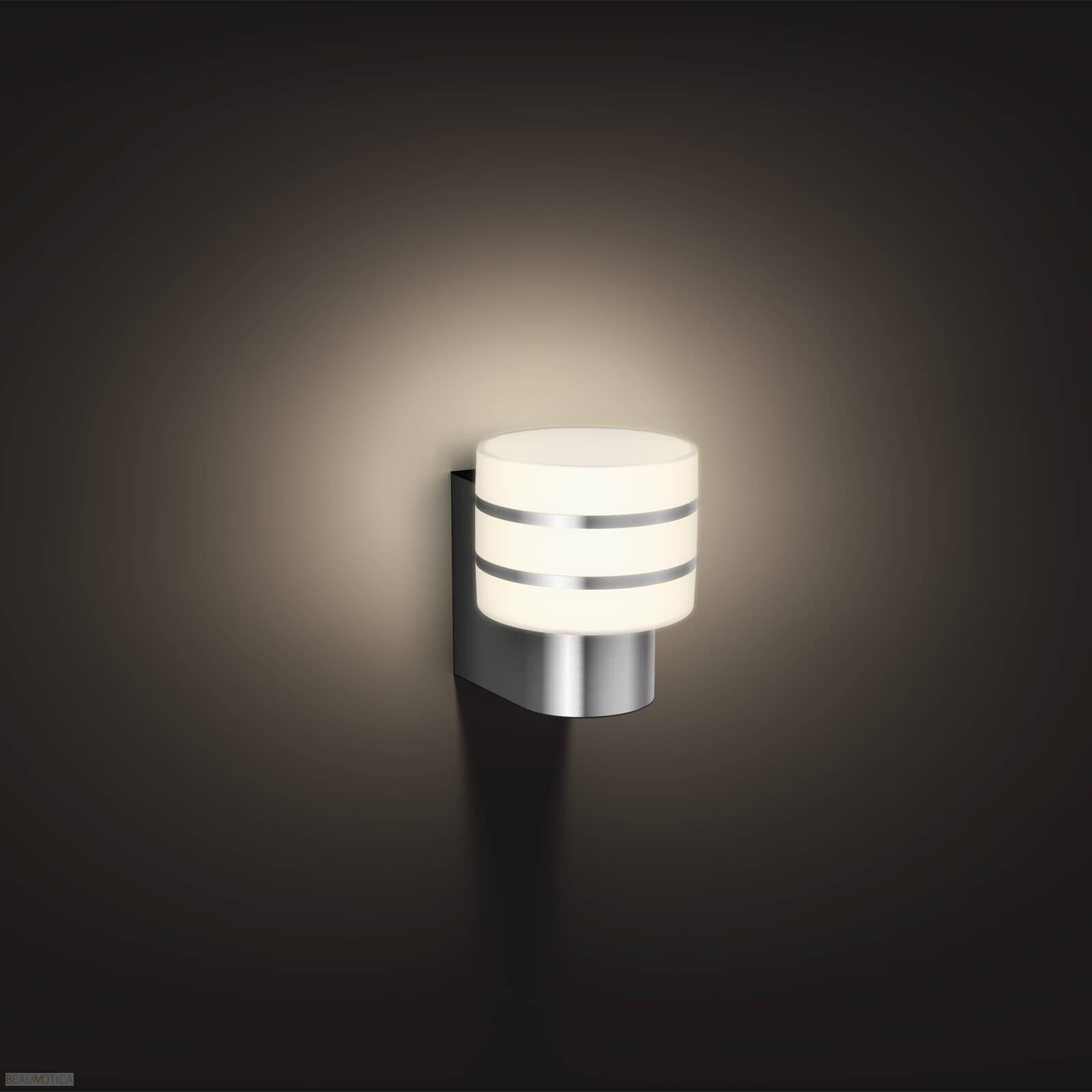 Philips Hue Outdoor Lampen.Philips Hue Outdoor Tuar Wandlamp Rvs White