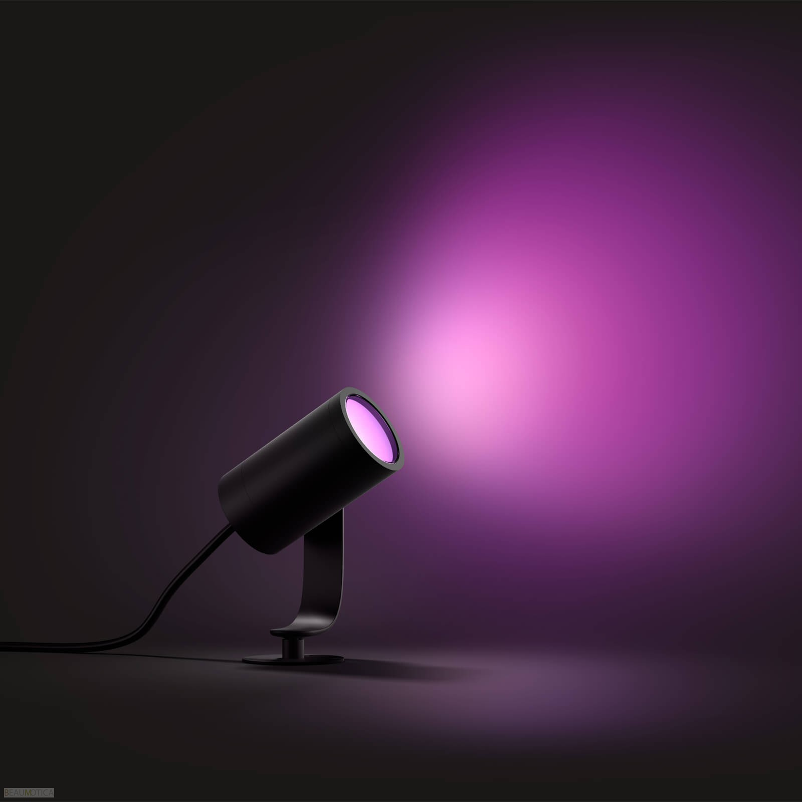 Philips Hue Outdoor Lampen.Philips Hue Outdoor Lily Spot Zwart Basis White And Color