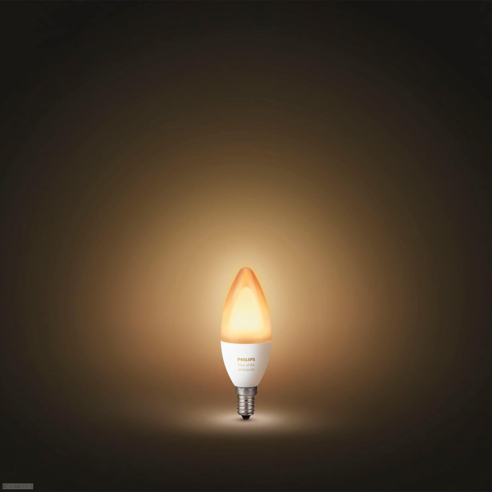 Philips Hue Lampen E14.Philips Hue White Ambiance Losse Lamp E14
