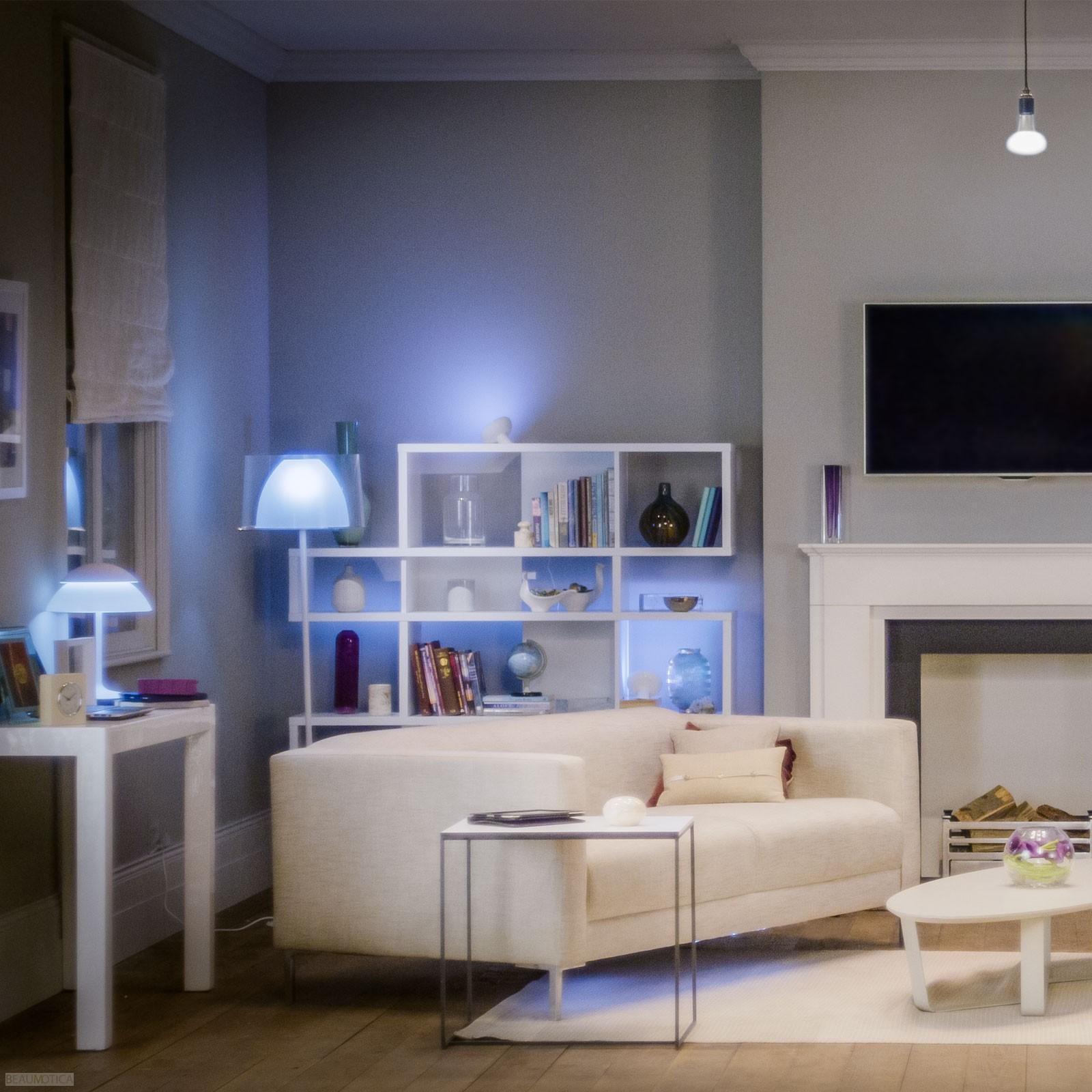 Philips hue fittinglampen met alle kleur  en wittinten   philips ...