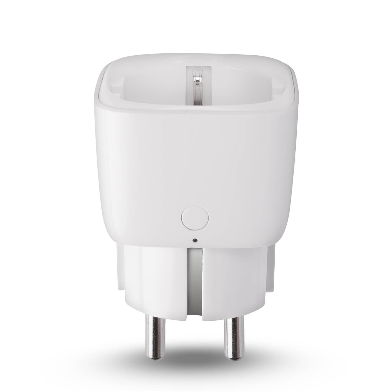 innr smart plug aan uit schakelaar doorsteek stekker. Black Bedroom Furniture Sets. Home Design Ideas
