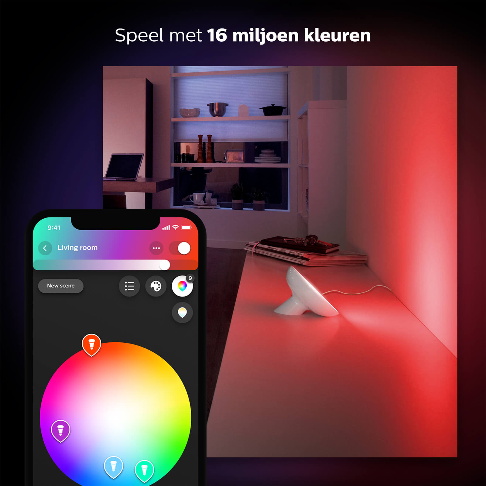 Philips Hue Bloom White Single Pack