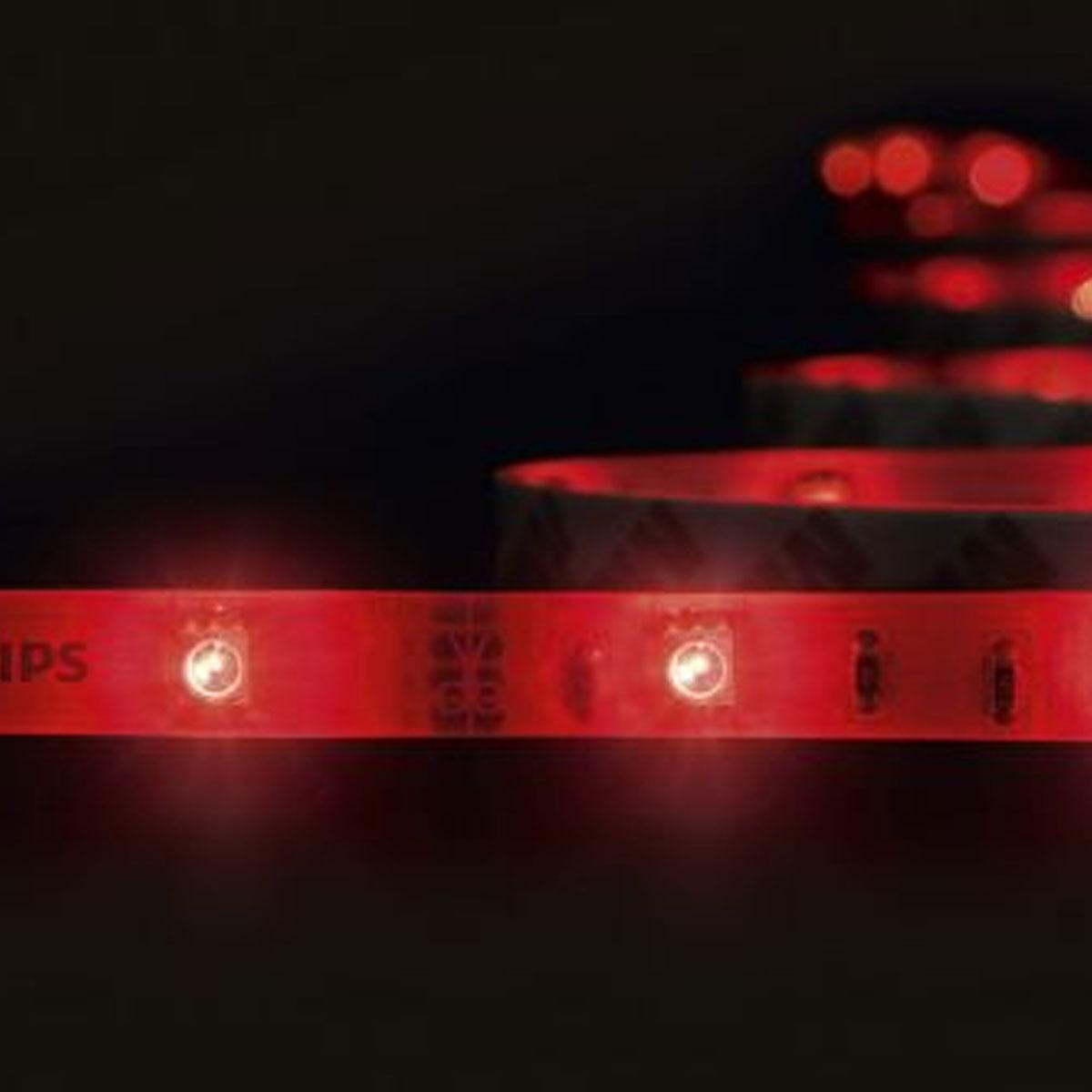 philips hue lightstrips starterset kopen online bij. Black Bedroom Furniture Sets. Home Design Ideas