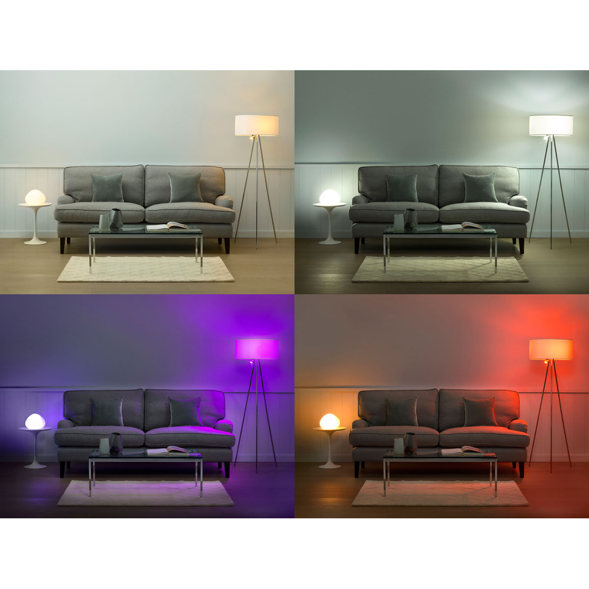 philips hue lamp starterset 3 lampen met bridge. Black Bedroom Furniture Sets. Home Design Ideas