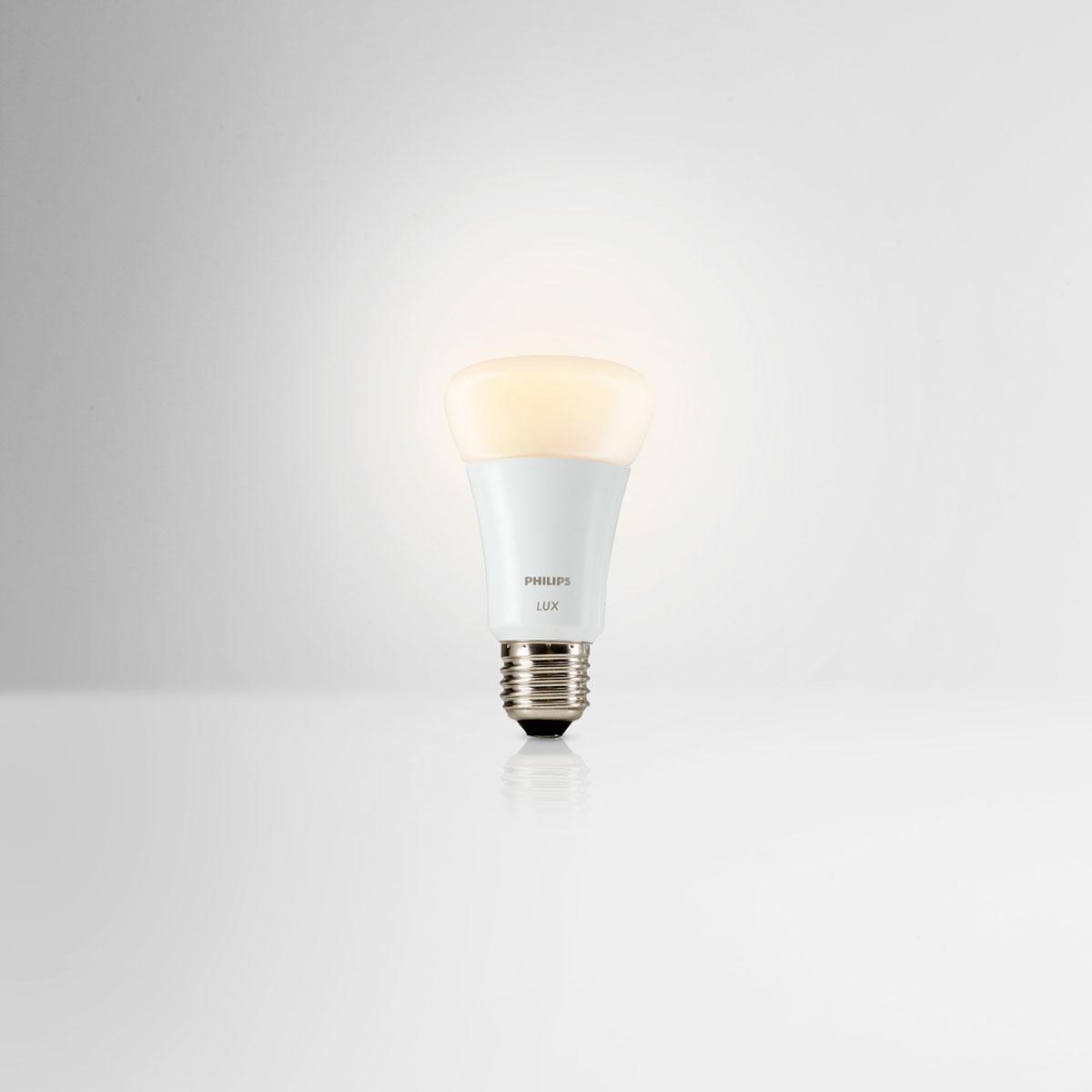 philips hue lux starter pack 2 lampen met bridge. Black Bedroom Furniture Sets. Home Design Ideas
