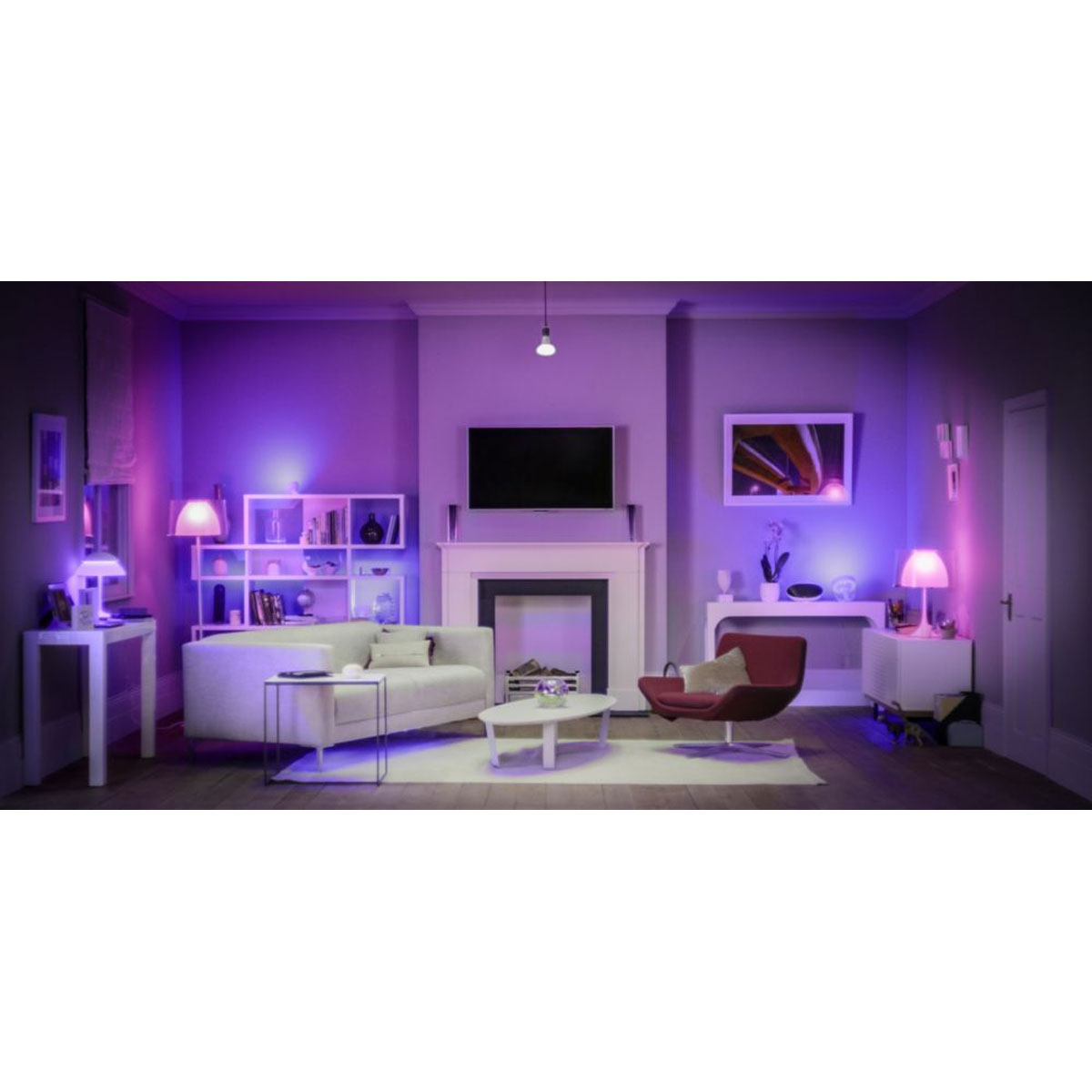 philips hue gu10 starterset kopen bestel veilig online. Black Bedroom Furniture Sets. Home Design Ideas