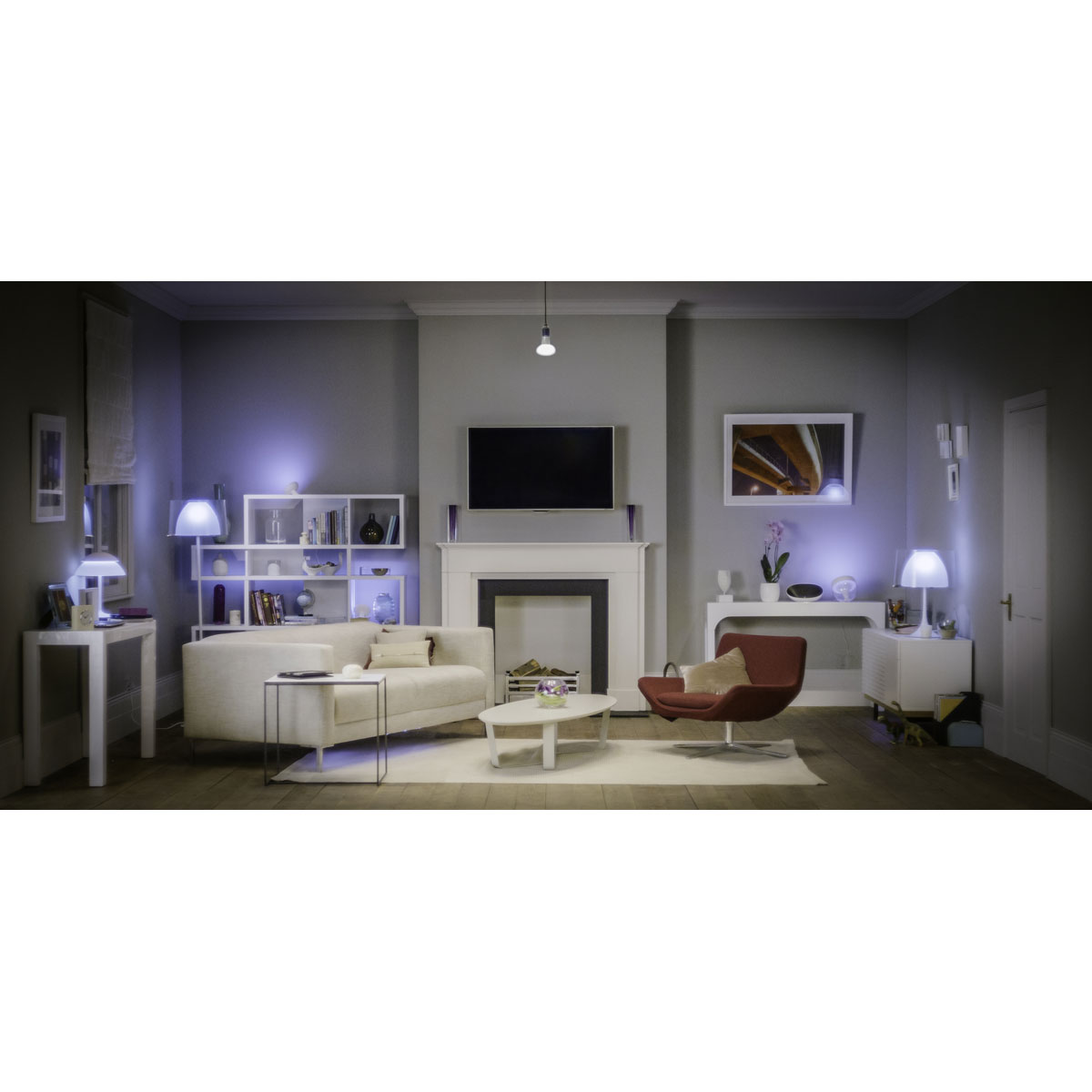 losse philips hue gu10 led lamp bestellen koop veilig bij beaumotica. Black Bedroom Furniture Sets. Home Design Ideas