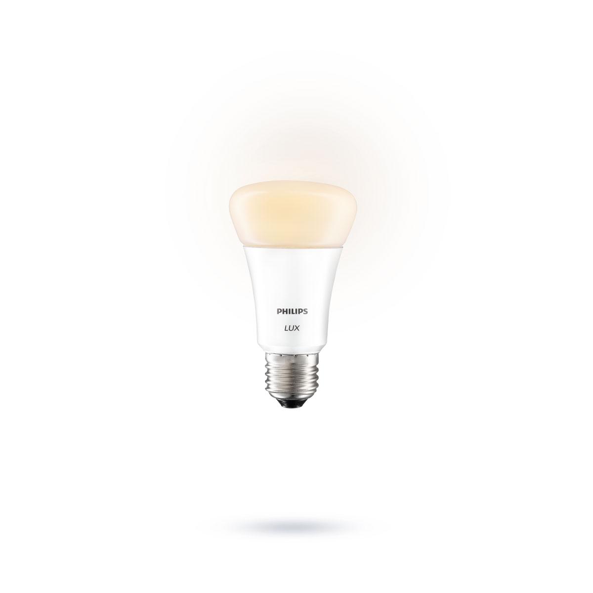 philips hue lux starterset 2 lampen met bridge. Black Bedroom Furniture Sets. Home Design Ideas