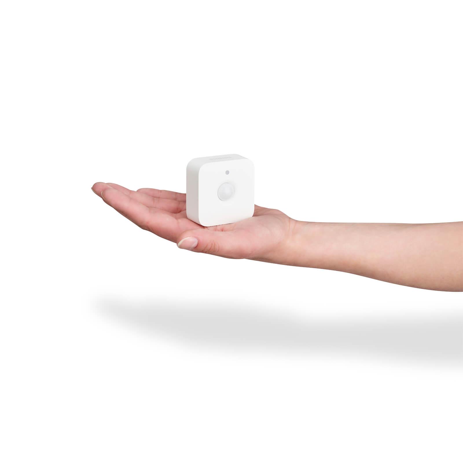 philips hue motion sensor bewegingssensor en dag nachtsensor. Black Bedroom Furniture Sets. Home Design Ideas