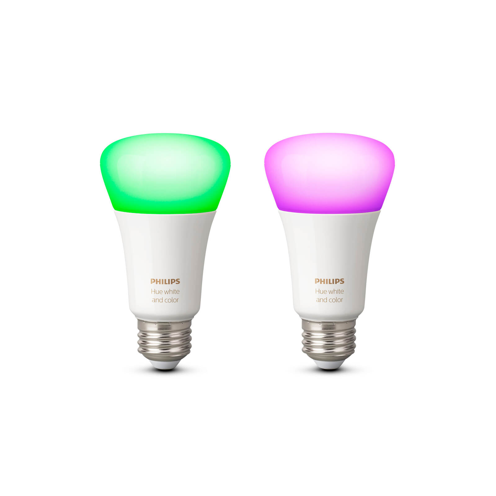 philips hue white and color e27 duo pack. Black Bedroom Furniture Sets. Home Design Ideas