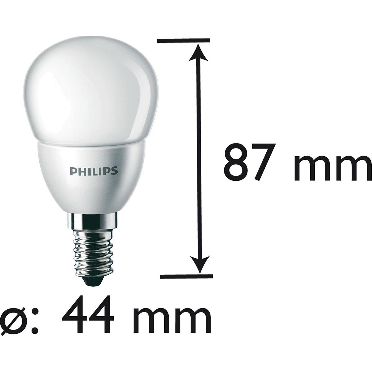 philips led lamp kogel mat 30w e14. Black Bedroom Furniture Sets. Home Design Ideas