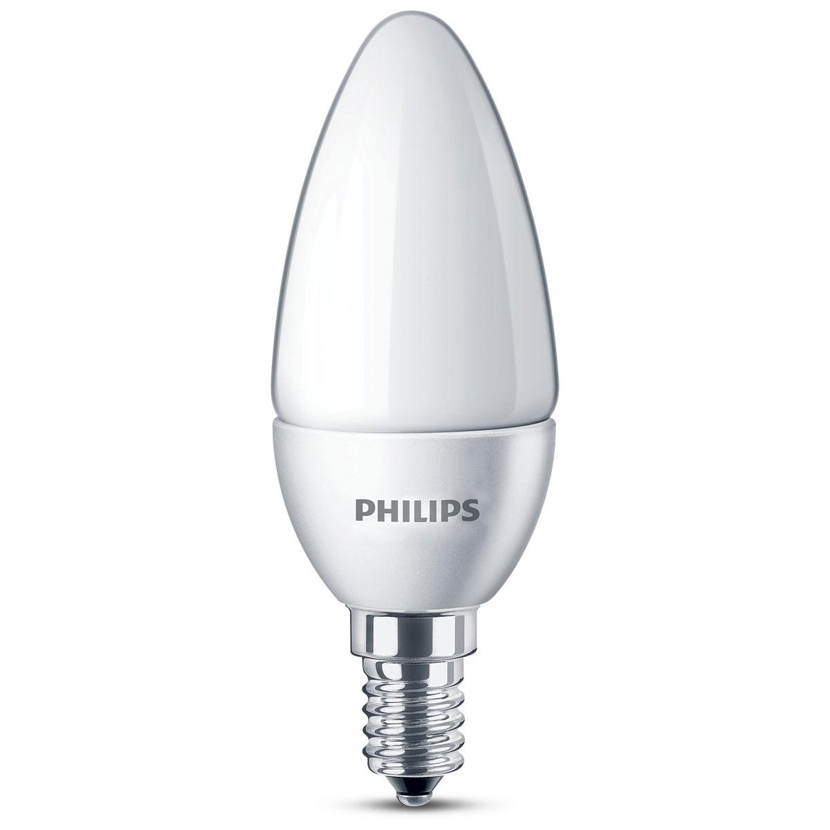 philips led lamp kaars mat 15w e14. Black Bedroom Furniture Sets. Home Design Ideas