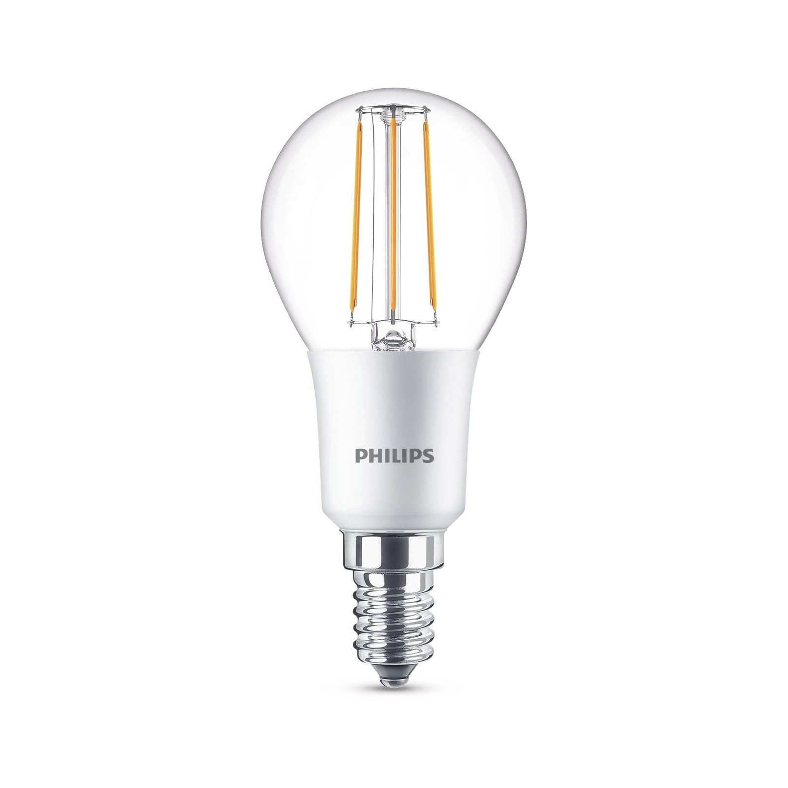 philips led lamp kogel helder 5w 40w e14 dimbaar 8718696575291. Black Bedroom Furniture Sets. Home Design Ideas