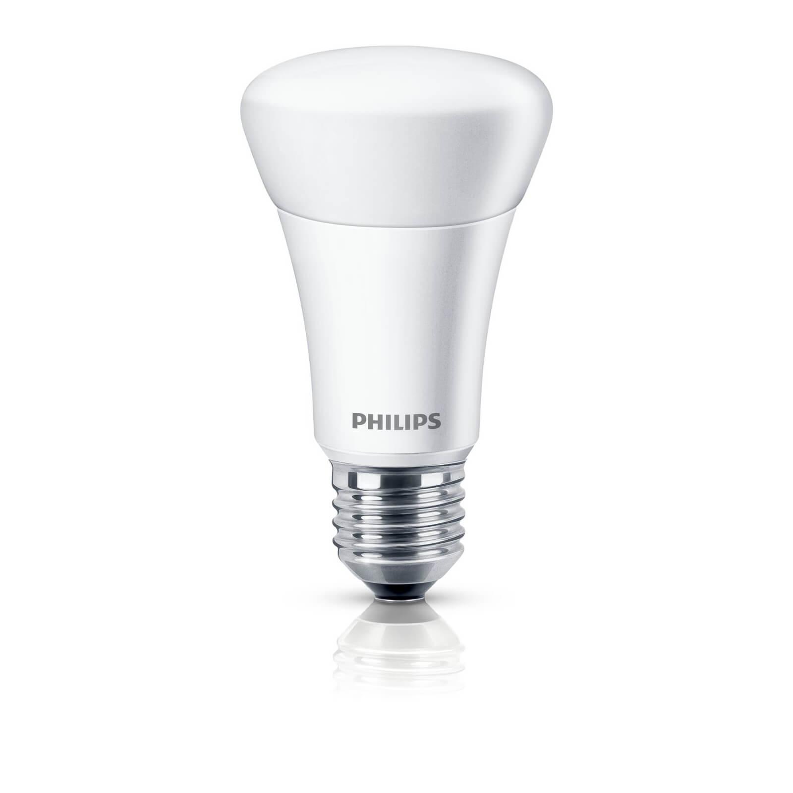 philips led lamp mat 60w e27 dimbaar. Black Bedroom Furniture Sets. Home Design Ideas