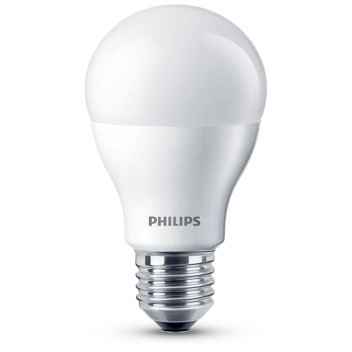 Philips Led Lampe : philips led lamp mat 10w 60w e27 dimbaar ~ Watch28wear.com Haus und Dekorationen