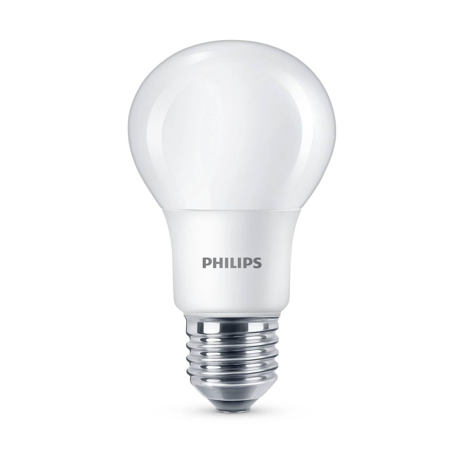 philips led lamp kogel mat 7 5w 60w e27 koel wit. Black Bedroom Furniture Sets. Home Design Ideas