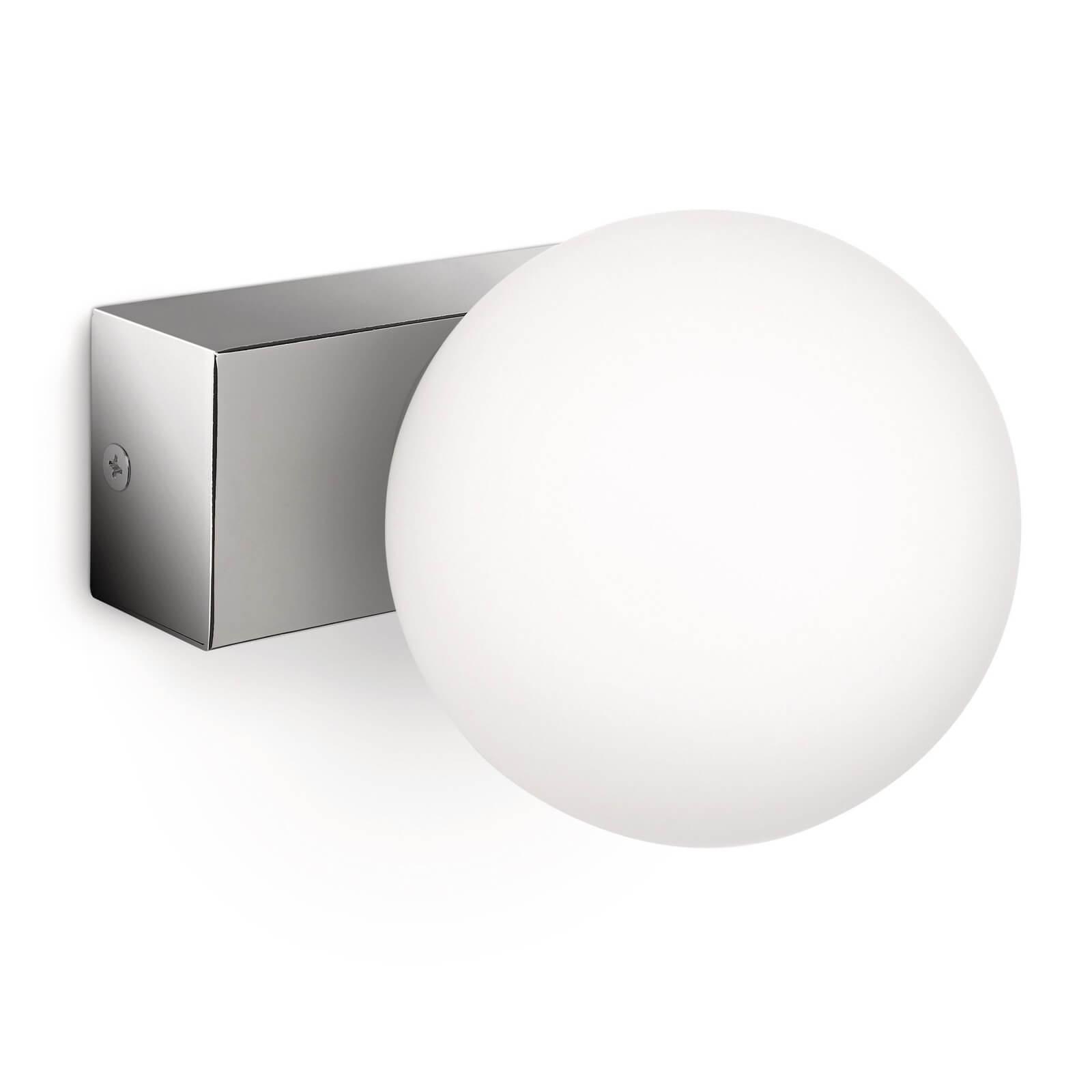 philips mybathroom drops wandlamp chroom wit 1 lamp. Black Bedroom Furniture Sets. Home Design Ideas
