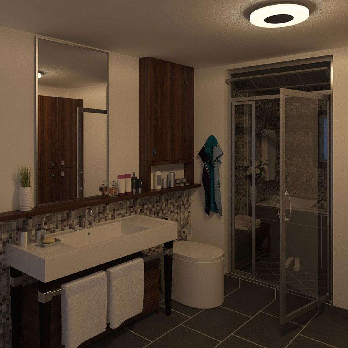 philips mybathroom beach plafondlamp mat chroom. Black Bedroom Furniture Sets. Home Design Ideas