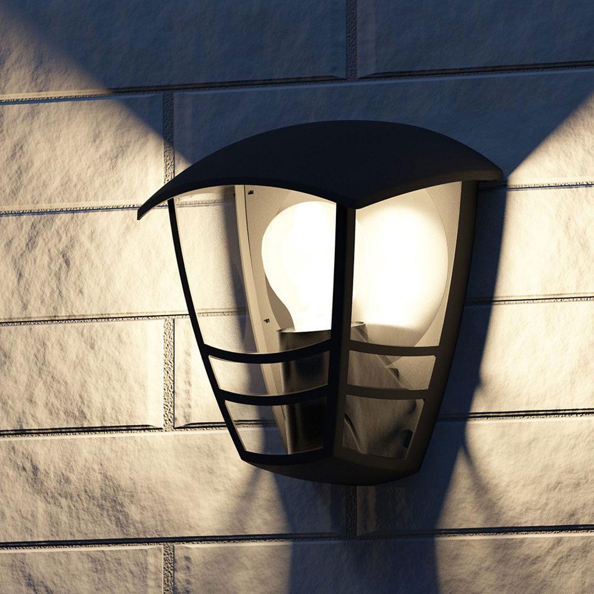 Bekend Philips myGarden Creek Wandlamp Zwart (rechtuit schijnend) AH22