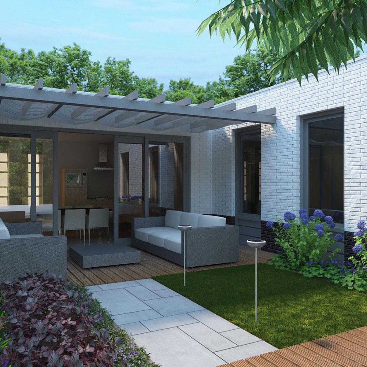 Philips mygarden well sokkel rvs zonne energie - Philips my garden ...