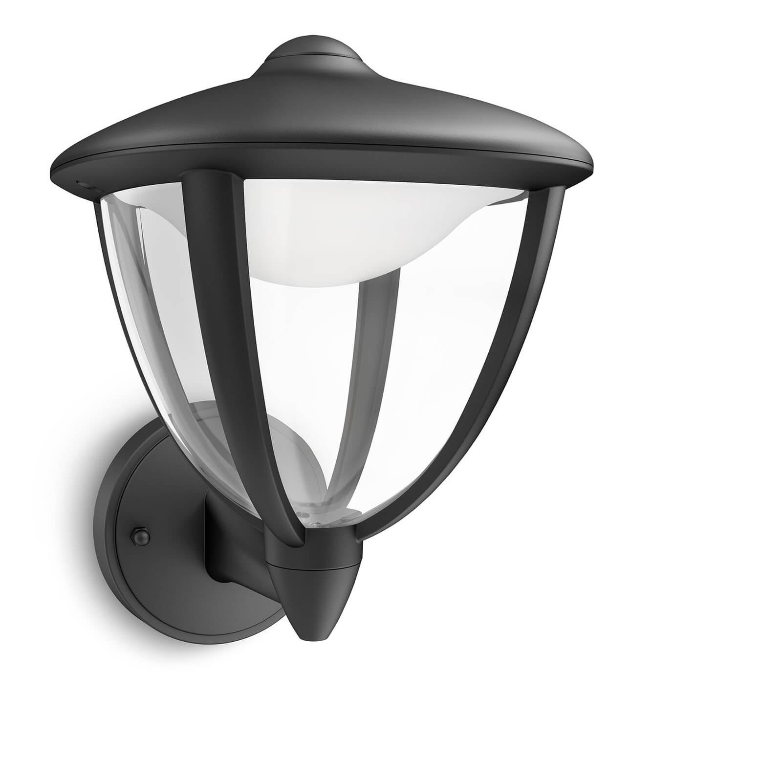 Philips mygarden robin wandlamp zwart - Philips my garden ...