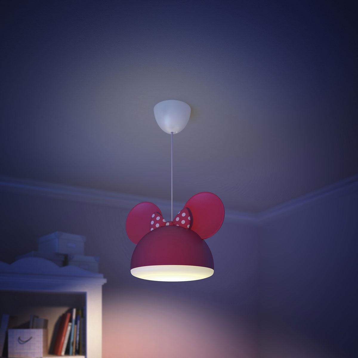 philips disney minnie mouse hanglamp rood. Black Bedroom Furniture Sets. Home Design Ideas