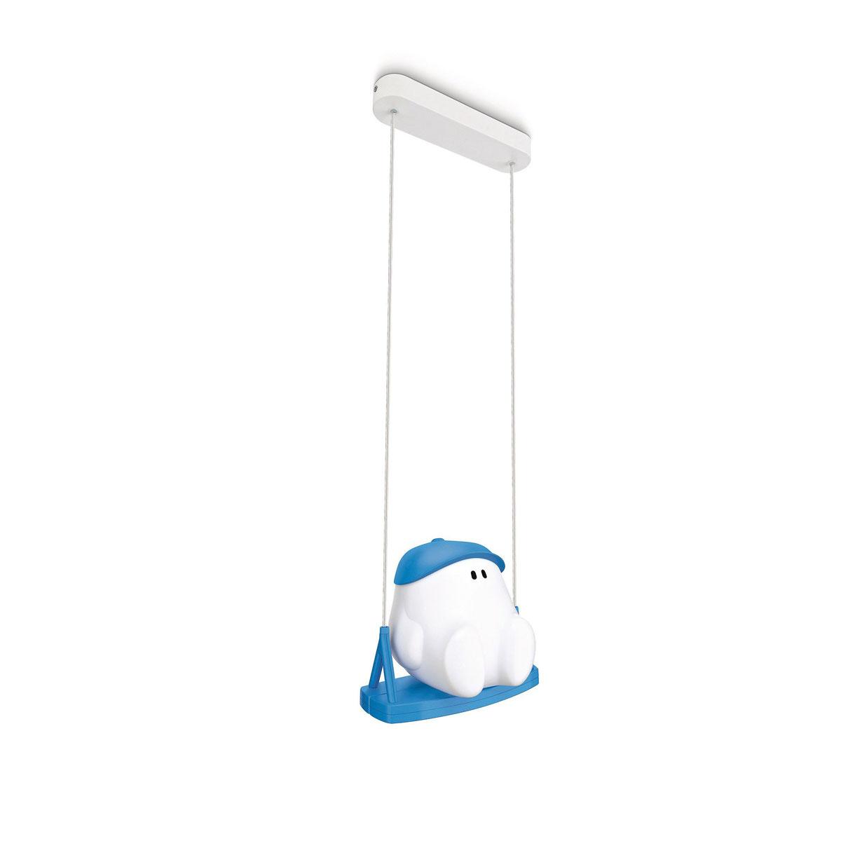 philips mykidsroom buddy swing hanglamp blauw. Black Bedroom Furniture Sets. Home Design Ideas
