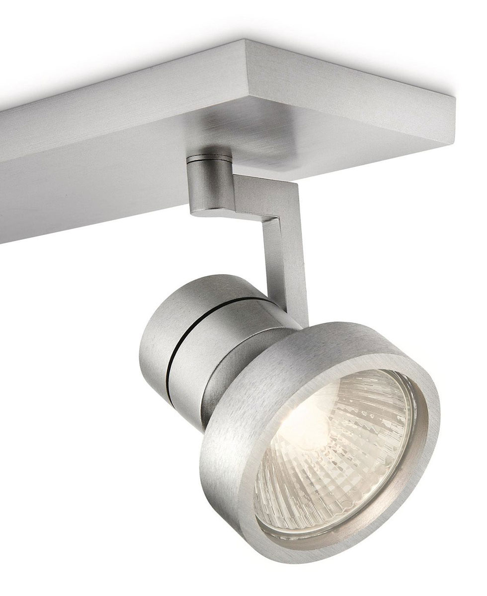 philips myliving drive spot aluminium 2 spots. Black Bedroom Furniture Sets. Home Design Ideas