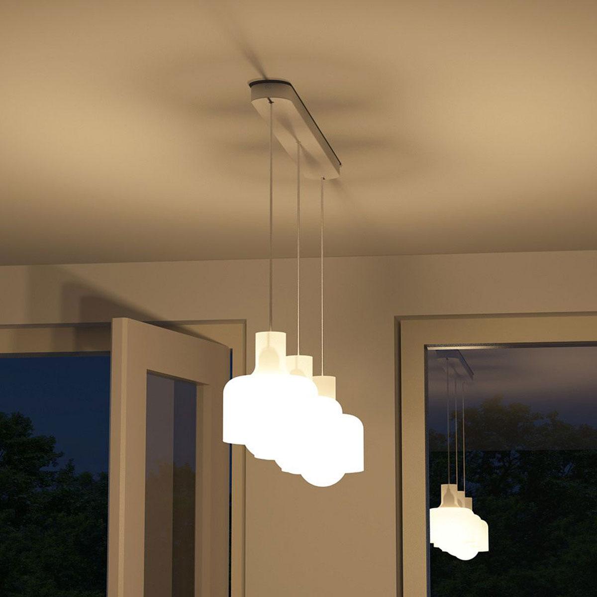 Philips myliving ravan hanglamp wit 3 lampen lang for Lampen philips