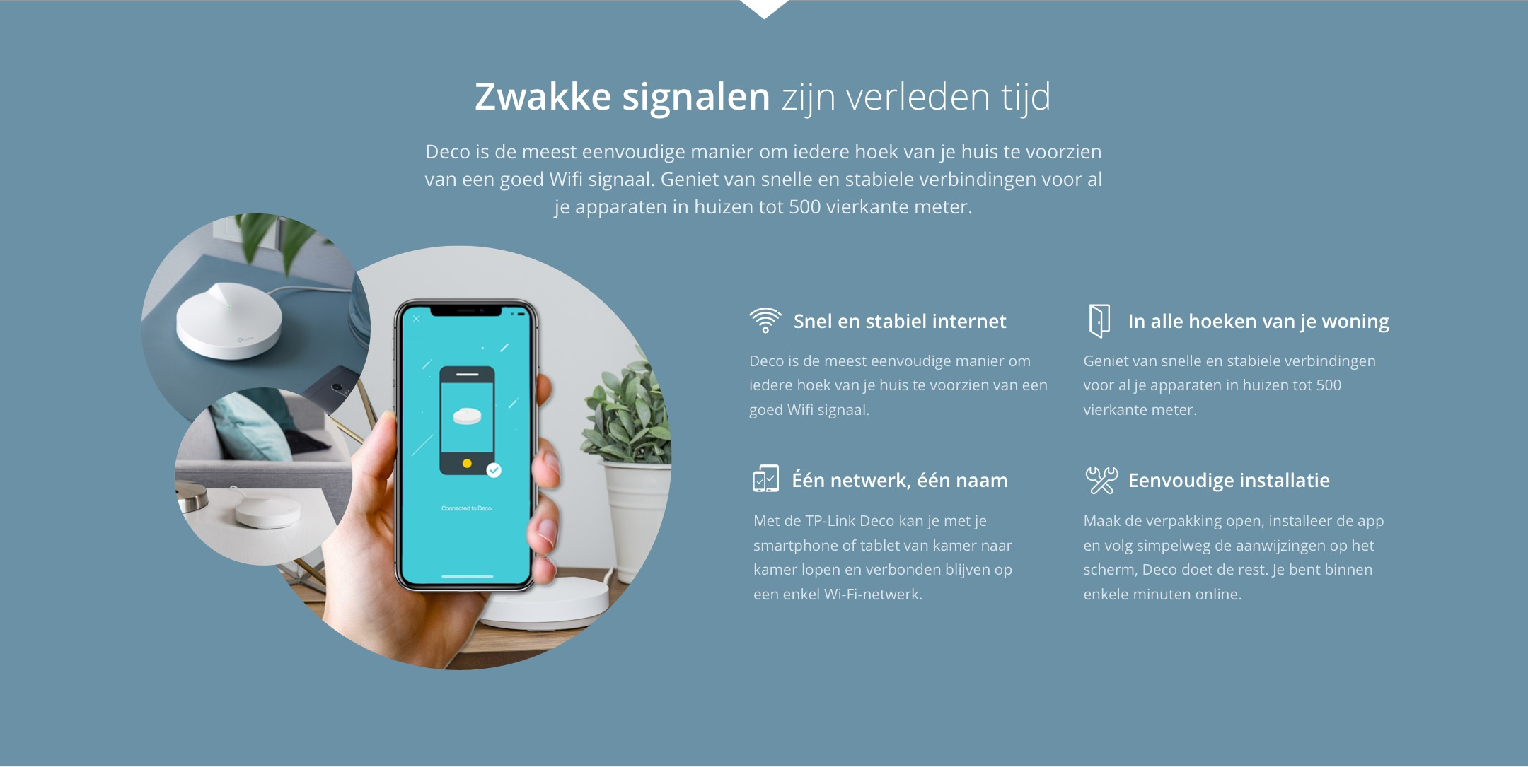 Tp Link Deco M5 Multiroom Wifi Systeem 3 Pack